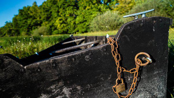Ship, Wood, Old, Chain, Iron, Nautical, Boat