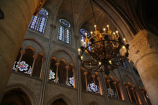 Paris, Notre Dame, Cathedral, France, Church