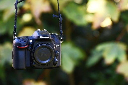 Slr Camera, Nikon D7200, Photograph, Photo Camera