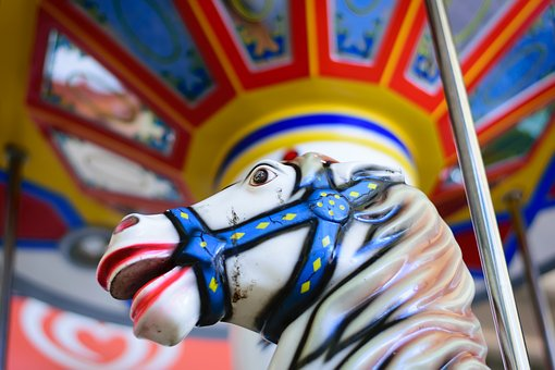 Circus, Carnival, Rides, Entertainment, Merry-go-round