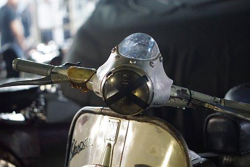Vespa, Scooter, Vehicle
