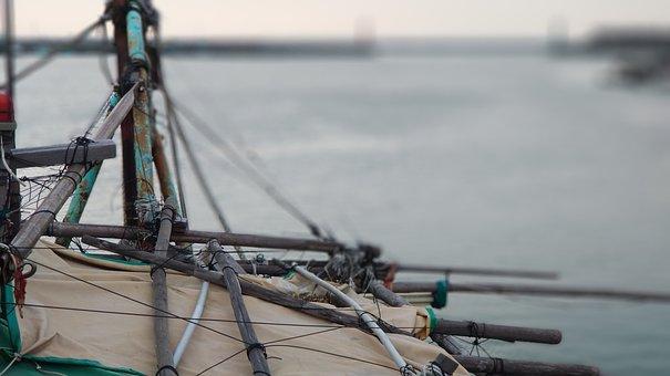 Fisherman's Bastion In Hong Kong, Sea View, Ship