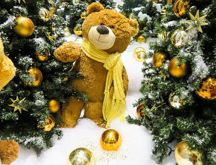 Emotions, Christmas, Decoration, Stuffed Animal