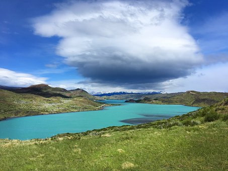 Lake, Turquoise, Blue, Landscape, Nature, Beach, Summer