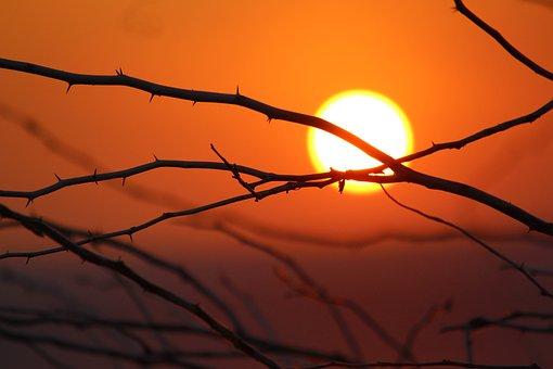 Sunset, Sunrise, Nature, Landscape, Water, Mountains