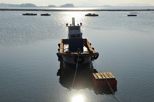 Break, Times, Coast, Fishing Fleet, Sea
