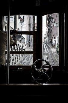 Lisbon, Tram, Portugal, Historic Center