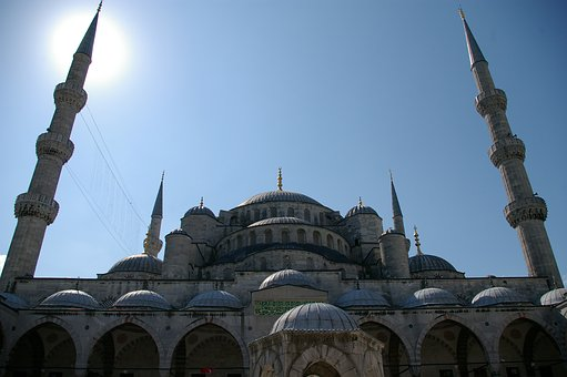 Istanbul, Turkey, Blue Mosque, Architecture, Islam