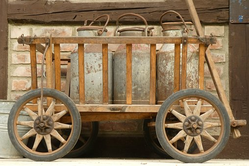 Churns, Transport, Museum, Antique, Vintage, Vehicle