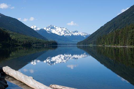 British Columbia, Canada, Mountains, Lake, Water