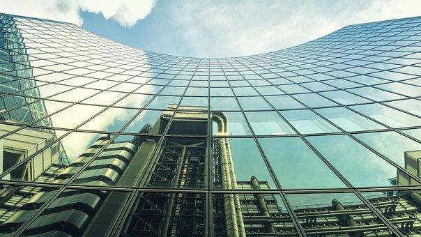 London, Willis Building, Mirroring, Skyscraper, Lloyds