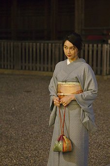 Japan, Kyoto, Gion, Kimono, Lady, Young Woman