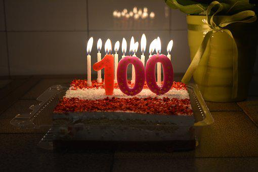Hundred, One Hundred, 100 Year Celebration, 100 Years