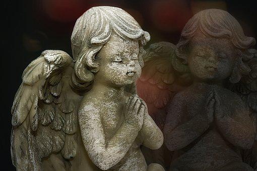 Angel, Statue, Figure, Sculpture, Wing, Cemetery