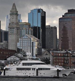 Boston, City, Building, Massachusetts, Architecture
