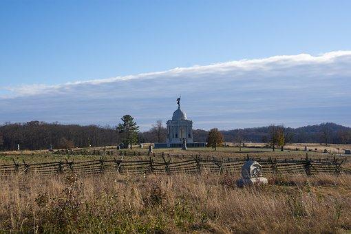 Gettysburg, Battlefield, History, Battle, War