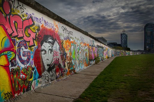 Berlin, Berlin Wall, Graffiti, Germany, Mural
