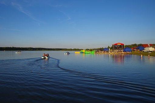 Bay Bima Heat, Holiday, Summer, Boat, Blue, Water