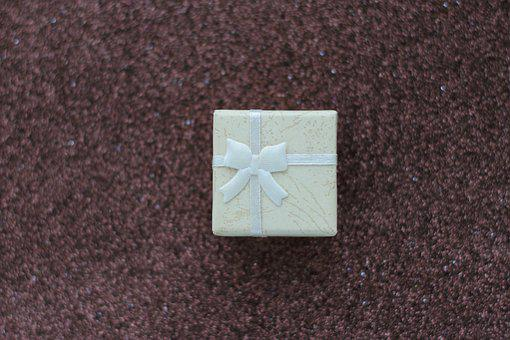 Gift, Box, Present, Christmas, Ribbon, Bow, Birthday