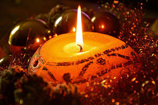 Candle, Candlelight, Light, Flame, Burn, Advent