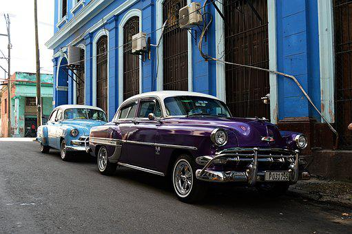 Cuba, Chrome, Auto, Retro, Vehicle, Classic, Automotive