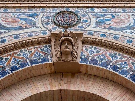 Architecture, Detail, Face, Head, Republic, Removal