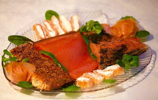 Salmon, Fish, Orange, Power, Eat, Delicious, Tasty
