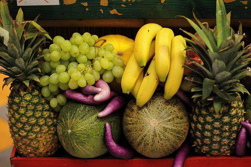 Pineapple, Fruit, Food, Tropical, Fresh, Ripe, Fruits
