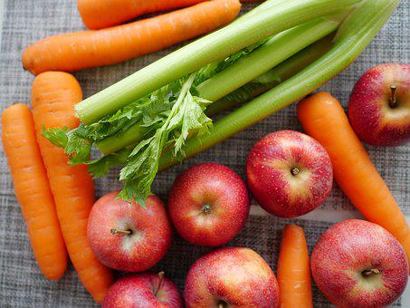 Fruit, Vegetables, Celery, Apples, Carrot, Fructarians
