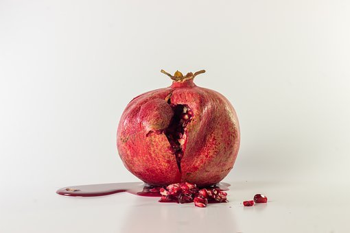 Pomegranate, Fruit, Healthy, Vitamins, Red, Seeds, Food
