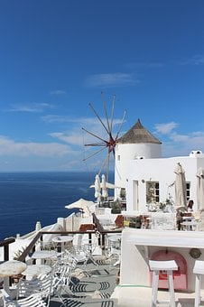 Santorini, Oia, Greece, Travel, Sea, Architecture