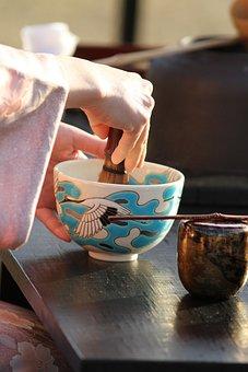 Tea Ceremony, Maccha, Traditional, Green Tea, Breakfast