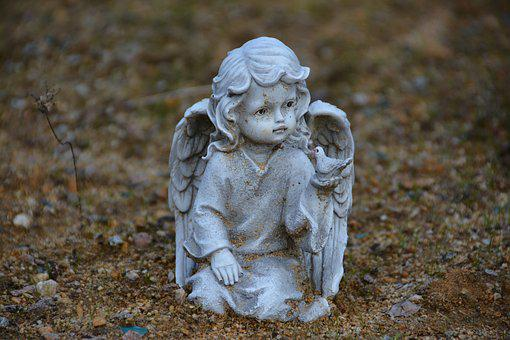Angel, Dove, Statue, Wings, Sculpture, Heavenly, Spirit
