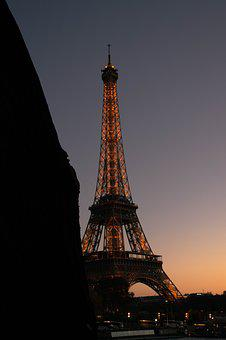 Paris, Eiffel, Architecture, City, France, Height