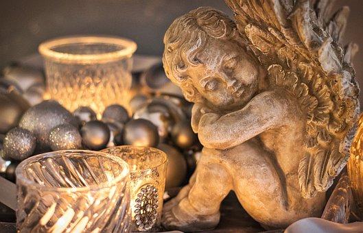 Christmas, Angel, Hope, Christmas Greeting, Decoration