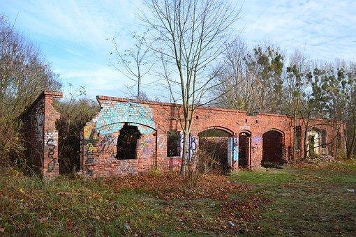 Crash, Abandoned, Old, House, Mood, Architecture