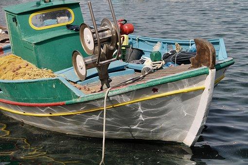 Fishing Boat, Boat, Fishing, Sea, Lake, Fish, Water