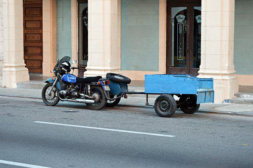 Motorcycle, Trailers, Moped, Motorsport, Traffic