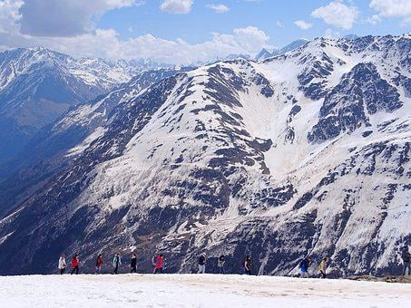 The Caucasus, Mountains, Cable Car, Lift, Top, Rocks