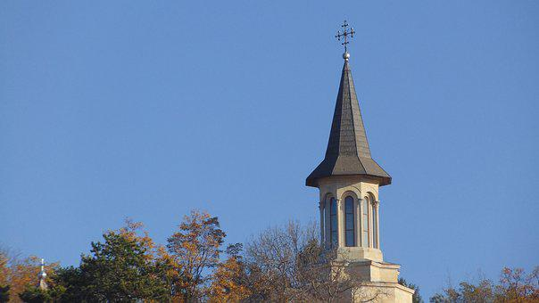 Church, Sky, Faith, Religion, Cross, Crucifixion