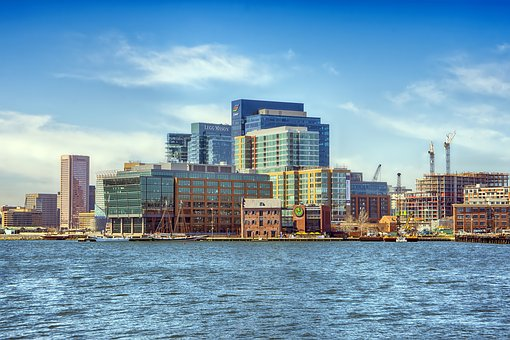Baltimore, Harbor, Dock, Ship, City, Urban, Water