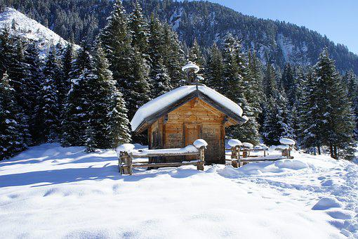 Winter, Snow, Mountains, Christmas, Advent, Nature
