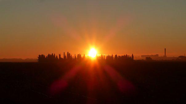 Sunrise, Morning, Nature, Landscape, Sky, Quiet