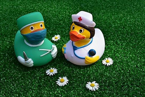 Surgeon, Operation, Rubber Duck, Nurse, Funny, Cute