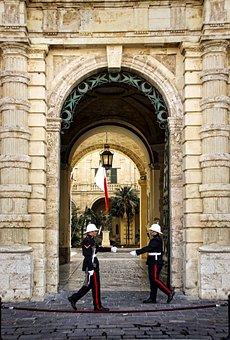 Valletta, Malta, Guard, Grand Master, Palace, Capital