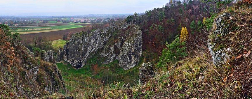 Panorama, Valley Bolechowicka, Valleys Near Cracow
