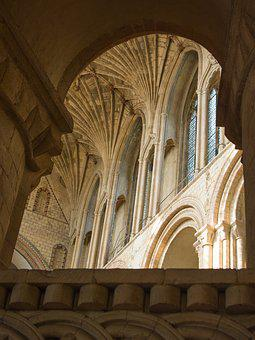 Cathedral, Norwich, Vault, Blanket, Architecture
