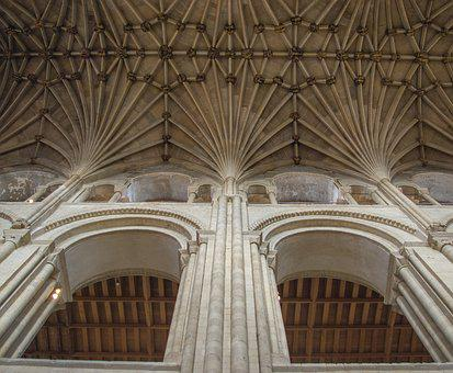 Cathedral, Norwich, Vault, Architecture, Religion