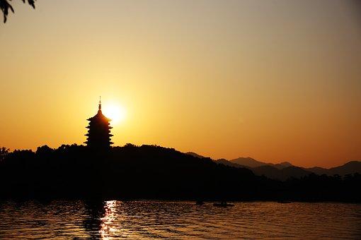 Hangzhou, West Lake, Leifeng Pagoda