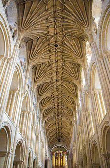Norwich, Cathedral, Nave, Ship, Organ, Blanket